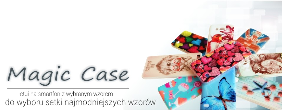 Etui Magic Case ze wzorem