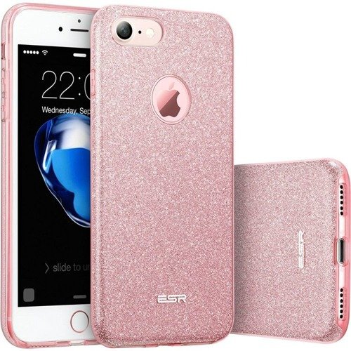 ESR Glitter Shine Rose Gold | Obudowa ochronna dla Apple iPhone 7