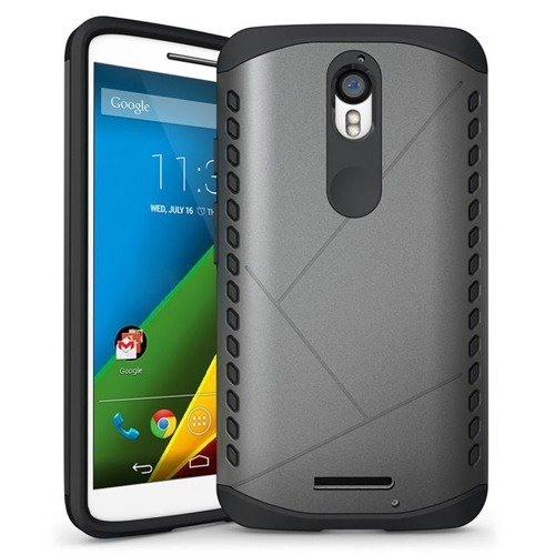 Tech-Protect Combat Gray | Obudowa dla Lenovo Moto X Force